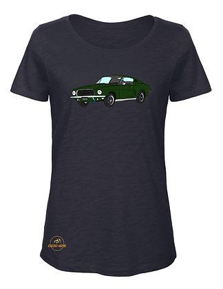 Ford Mustang Bullitt  / T-Shirt Femme coton BIO