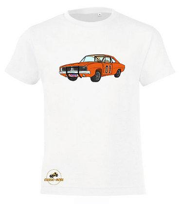 Dodge Charger - Dukes of Hazzard / T-shirt coton Garçon