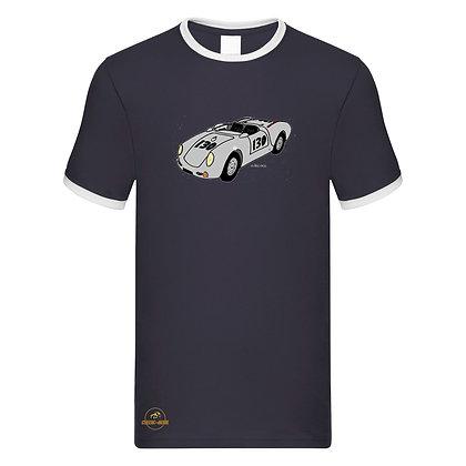 Porsche 550 Spider Little Bastard / Tee shirt Homme vintage