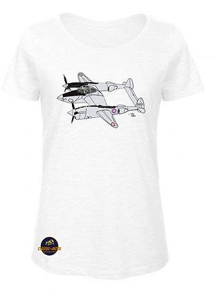 Lockheed P-38 Lightning /  T-Shirt Femme coton BIO