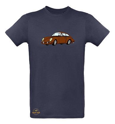 Porsche 911 marron / Tee shirt Homme coton BIO