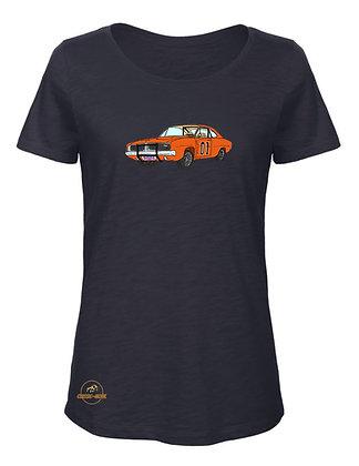 Dodge Charger - Dukes of Hazzard / T-Shirt Femme coton BIO