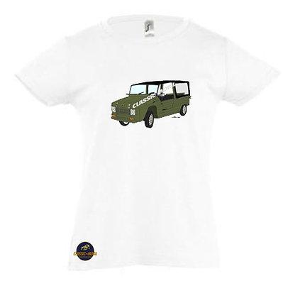 Méhari kaki / Tee-shirt Fille