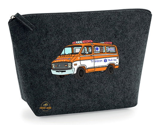Dodge ambulance Cannonball Run / Pochette feutrine