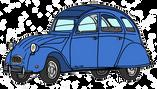 Citroën 2CV6 bleue