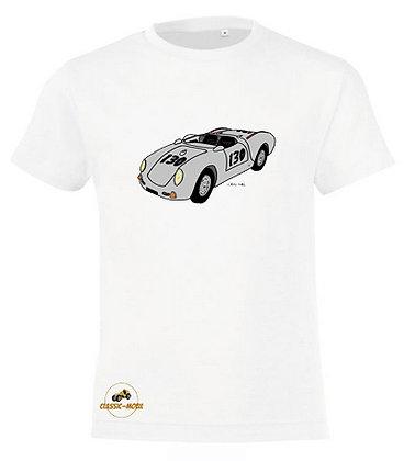Porsche 550 Spider Little Bastard / Tee-shirt coton Garçon