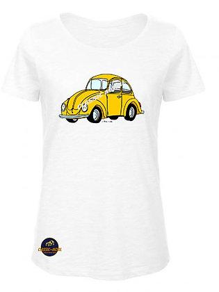 Coccinelle jaune / BIO T-Shirt Femme
