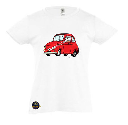 Fiat 500 Classic / Tee-shirt Fille