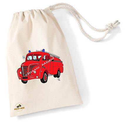 Berliet GLC pompier / Sac pochon coton bio