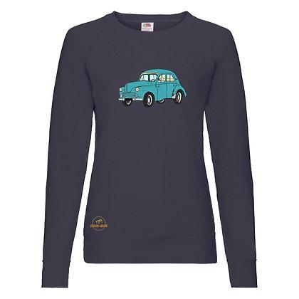 Renault 4 CV verte / Sweat-shirt Femme