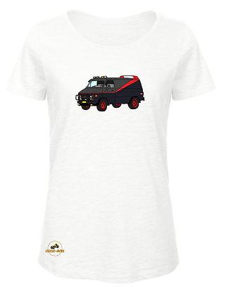 GMC Vandura V8 - ATR / T-Shirt Femme coton BIO