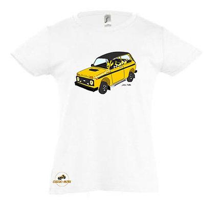 Lada Niva Tsarina jaune / Tee-shirt coton Fille