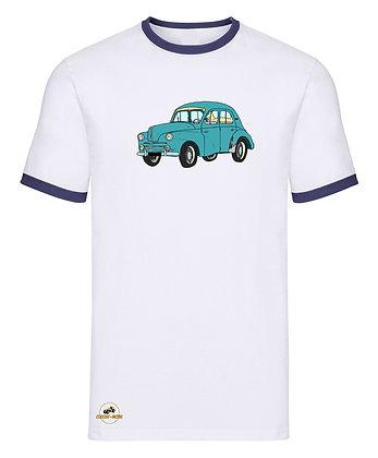 Renault 4 CV verte / Tee shirt Homme vintage