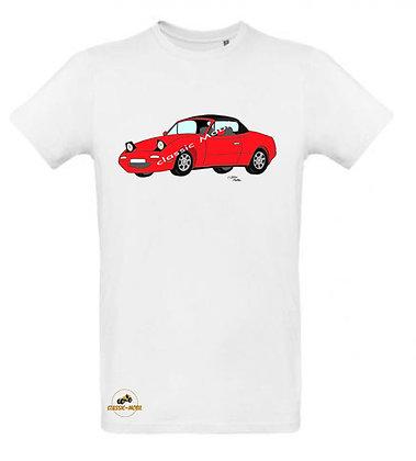 Mazda MX5 NA rouge / Tee shirt Homme coton BIO
