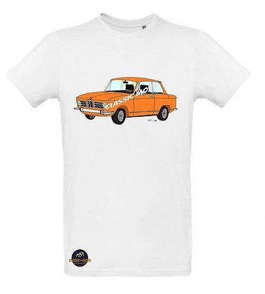 BMW 2002 orange / Tee shirt Homme coton BIO