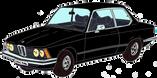 BMW 320 E21 noire