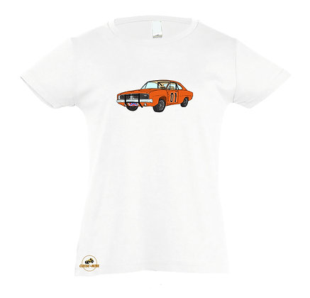 Dodge Charger - Dukes of Hazzard / Tee-shirt coton Fille