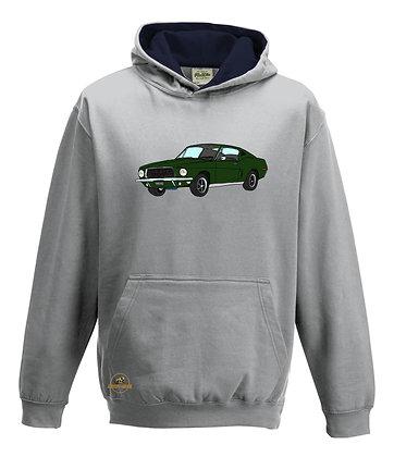 Ford Mustang Bullitt  / Sweat-shirt Enfant