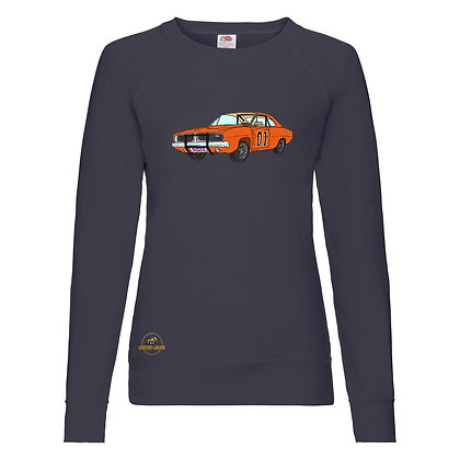 Dodge Charger - Dukes of Hazzard / Sweat-shirt Femme