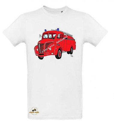 Berliet GLC pompier / Tee shirt Homme coton BIO
