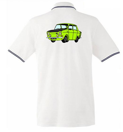 Simca 1000 rallye  / Homme polo