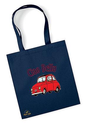 Fiat 500 Classic - Ciao Bella / Tote Bag coton bio