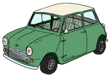 Austin MINI MK1 Almond green