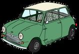 Austin MINI MK1 Almond green