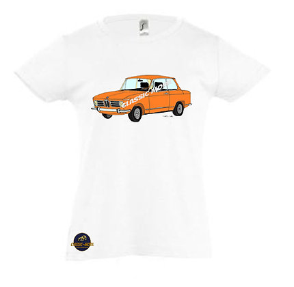 BMW 2002 orange / Tee-shirt Fille