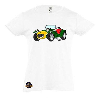 Lotus Seven / Tee-shirt Fille