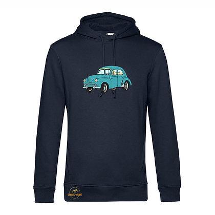 Renault 4 CV verte / Homme Sweat-shirt coton bio
