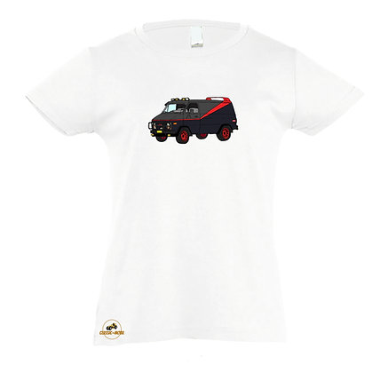 GMC Vandura V8 - ATR / Tee-shirt coton Fille
