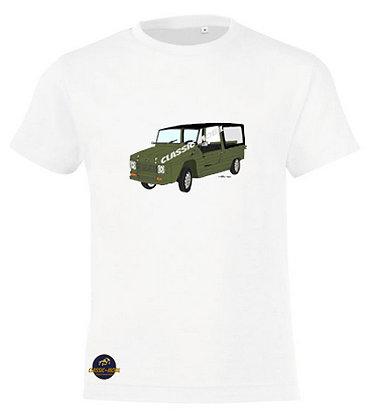 Méhari kaki  / Tee-shirt coton Garçon