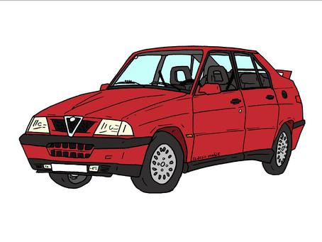 Road Story : lancement presse Alfa 33 à Venise : 33 km en 33 mn dans l'Alfa 33