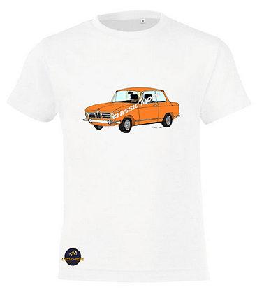 BMW 2002 orange / Tee-shirt coton Garçon