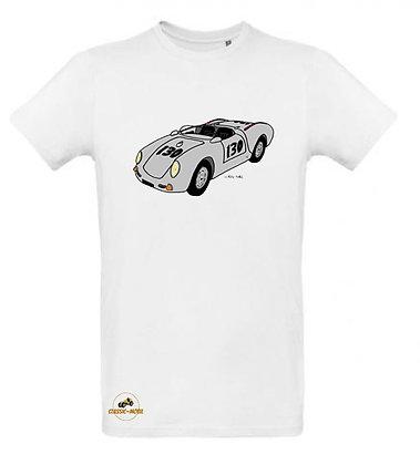 Porsche 550 Spider Little Bastard / Tee shirt Homme coton BIO