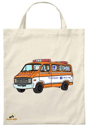 Dodge ambulance Cannonball Run / Tote Bag
