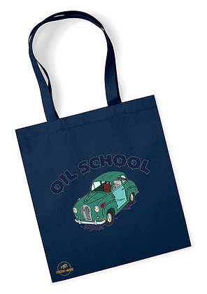 Austin A35 - Oil School / Tote Bag coton bio