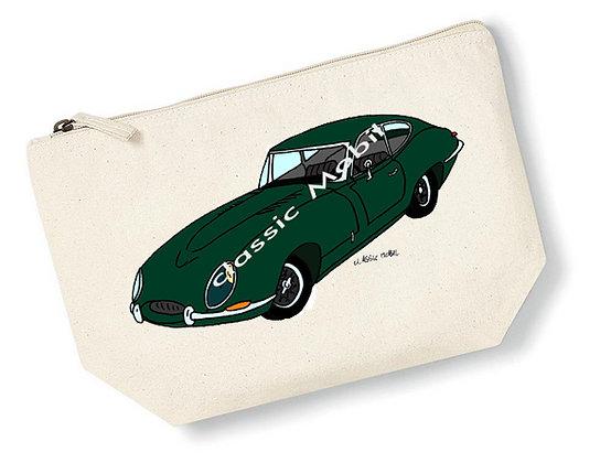 Jaguar Type-E / Pochette coton