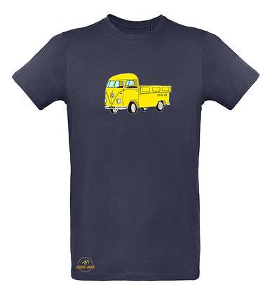 Volkswagen Combi Split Pickup / T-shirt Homme coton BIO