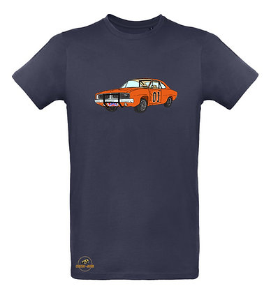 Dodge Charger - Dukes of Hazzard / Tee shirt Homme coton BIO