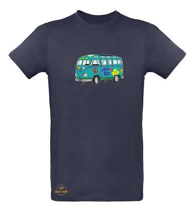 Volkswagen Combi Split Love Bus / T-shirt Homme coton BIO