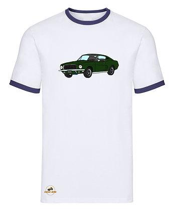 Ford Mustang Bullitt / Tee shirt Homme vintage