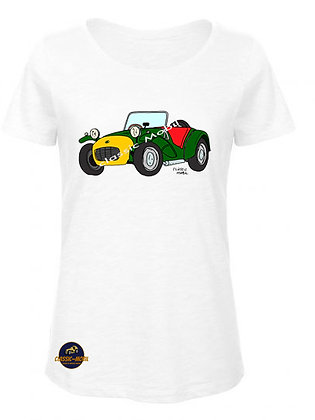 Lotus Seven /  BIO T-Shirt Femme