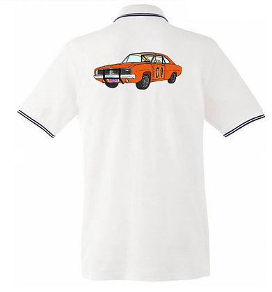 Dodge Charger - Dukes of Hazzard / Homme polo