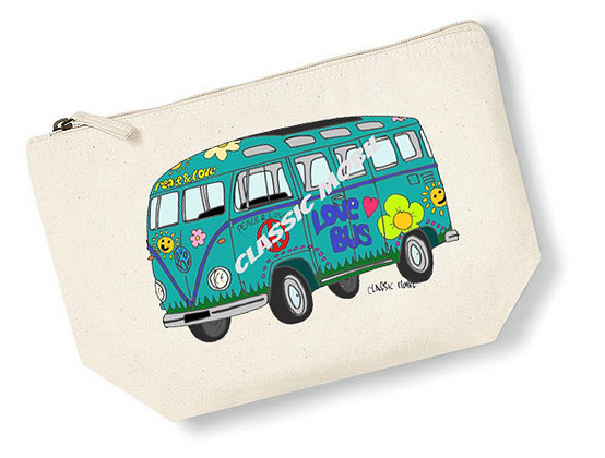 Love Bus / Pochette coton