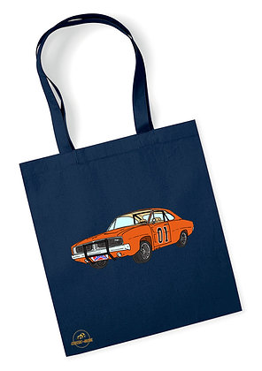 Dodge Charger - Dukes of Hazzard / Tote Bag coton bio