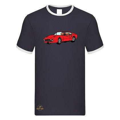 Ferrari 308 - Magnum / Tee shirt Homme vintage
