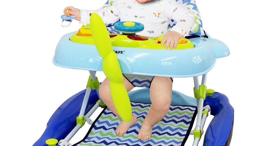iSafe 2 in 1 Aero Walker And Rocker (Blue)