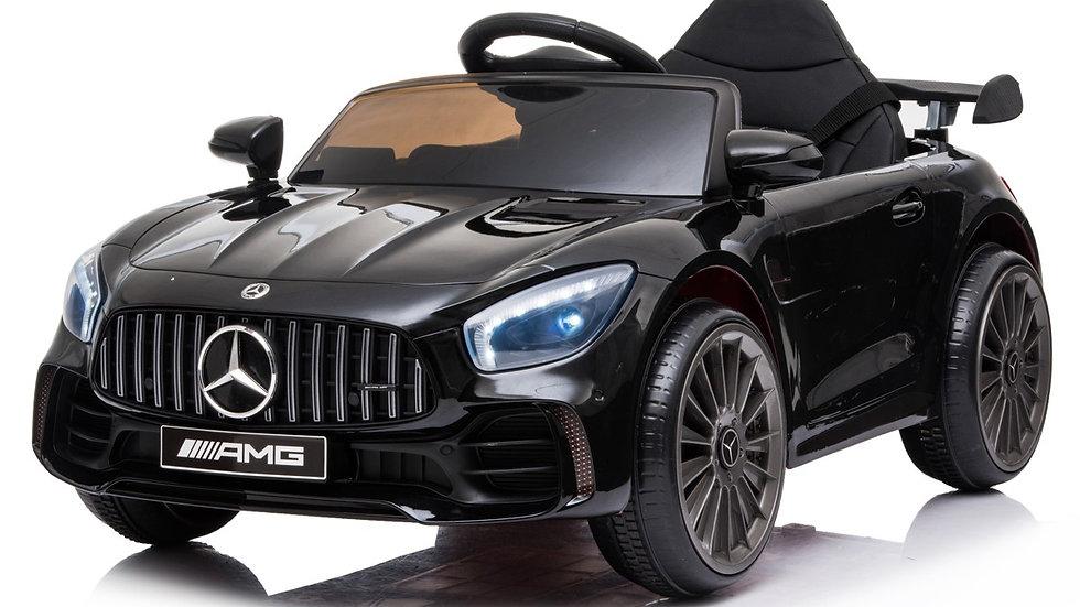 12V Licensed Mercedes GTR AMG Ride On Car Black